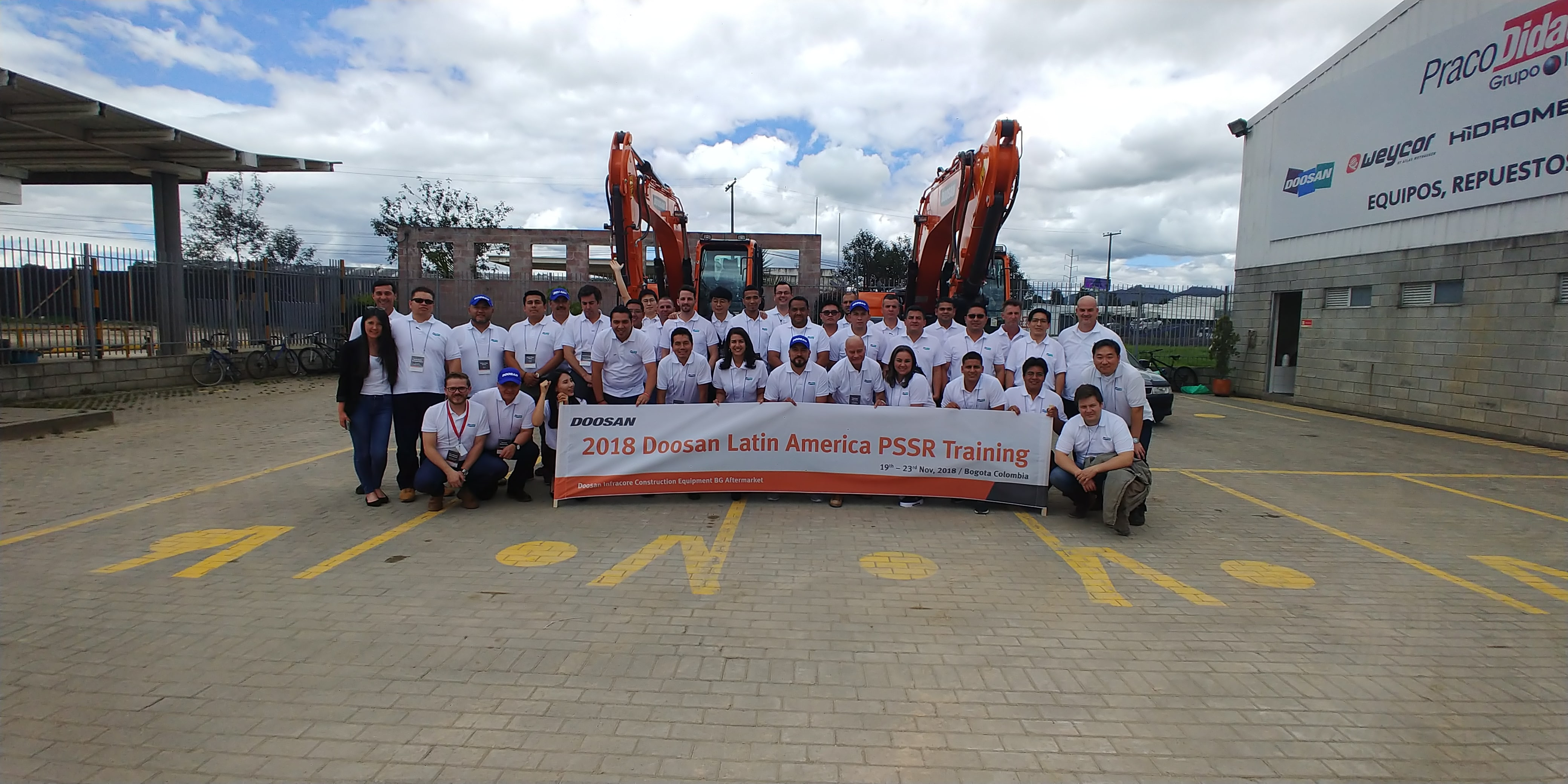 Doosan Latin America PSSR Training 2018